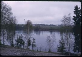 Rainy River near International Falls, Minn.
