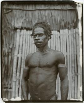 [Man from New Guinea coast nation]