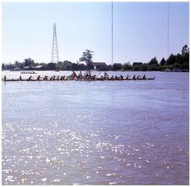 Canoes on the Fraser River