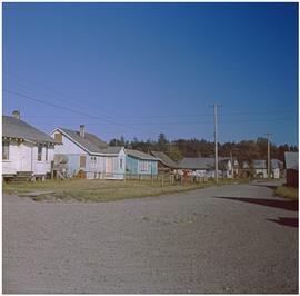 Haida,' Masset [gravel road with houses]