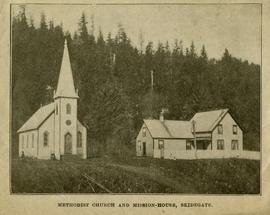 Methodist church and mission-house, Skidegate