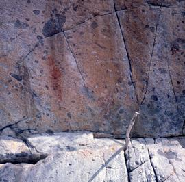 North Coast: [scenery], Myers Pass rock paintings