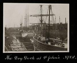 The Dry Dock at St. John's, Newfoundland