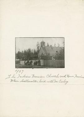 The indian mission church and house, Nanaimo