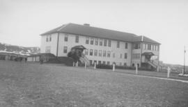 Morley Residential School after new wing was built