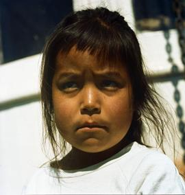 Alice from the Book Somewhere Between, a native of 'Klemtu' North Coast, BC