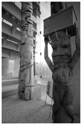 Totem poles and construction