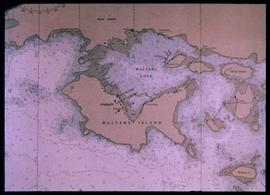 Nautical chart of Walters Island