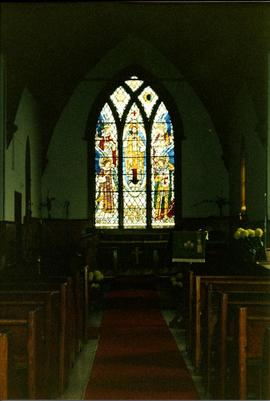 Interior church view
