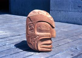 Arts of Ronen mask, side view