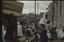 People in a market in northern Ethiopia