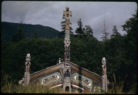 House front, Totem Bite [Bight], Ketchikan, Alaska