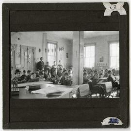 Children in Class at Elkhorn Residential School