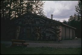 Carving shed (men's), K-San, B.C.