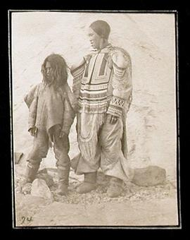 Inuit Woman and Child at Igluligaarjuk