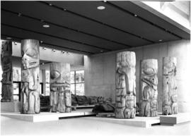 Totem [pole]s at UBC museum