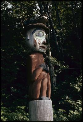 Totem at Totem Bite [Bight], Ketchikan, Alaska