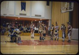 Native Brotherhood, Stony Mt. Pow Wow dancers at U of W
