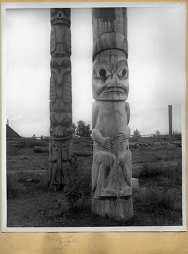 Two totem poles