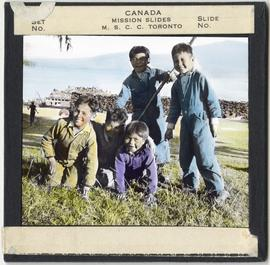 Children Playing at St. Michael's Residential School