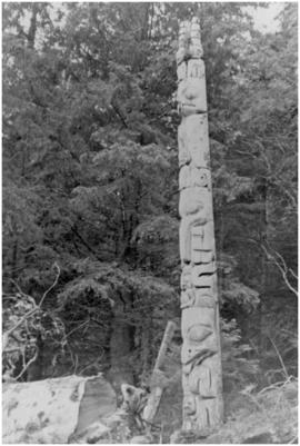 [Unidentified totem pole]