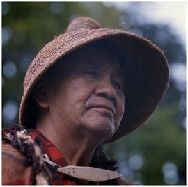 Dominic Joe, Duncan, B.C., Cedar bark hat