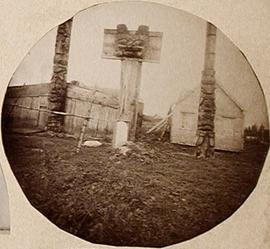 Images of Haida (?) Poles