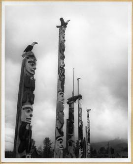 Kitwanga totem poles, view two