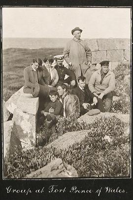 Group at Fort Prince of Wales