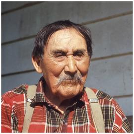 August Jack (107 yrs), Ladysmith, Van Isle