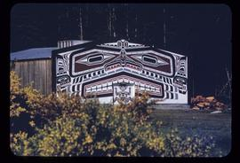 Alert Bay longhouse