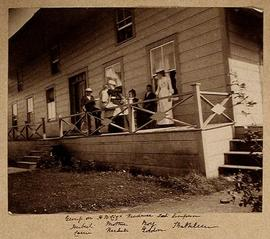 Group on Hudson's Bay Company Residence Lax-Kw'alaams