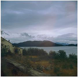 Skidegate [house and view]