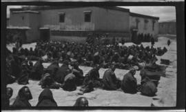 Monks at the Gyantse Gompa June 1922