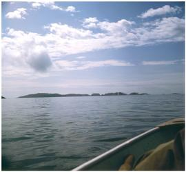 Anthony Island (Ninstins) view from water